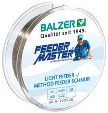 BALZER - Feederangeln - Feederfischen - Feedern - Method Feeder Schnur