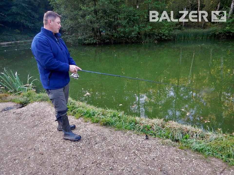 BALZER - Kurt Kricke Forellenangeln mit Köder