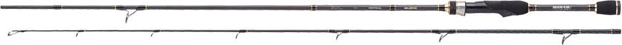 Rute zum Zander angeln-Shirasu IM 12 Pro Staff Vertical - auch für Hecht