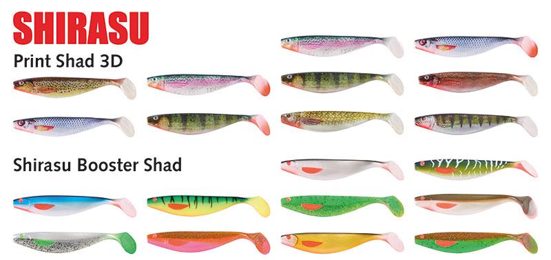 BALZER-der perfekte Gummifisch-Köder zum Zander angeln-Shirasu Print Shad und Shirasu Booster Shad