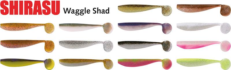 BALZER-der perfekte Köder zum Zander angeln-Shirasu Waggle Shad