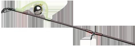Rutenspitzen Bissanzeiger mit Glocke