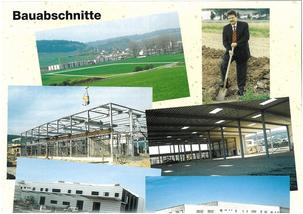 Bauabschnitte 1998