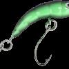 Forellenwobbler Hectic Maggot Chartreuse