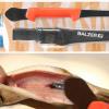 Filetiermesser mit Löffel/Ausschaber