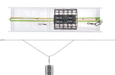 Feedermaster Fertig-Systeme - Offener Futterkorb Fertig-Rig