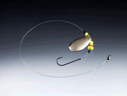 Balzer Edition Sea Plattfisch-Blinker Vorfach perlmutt