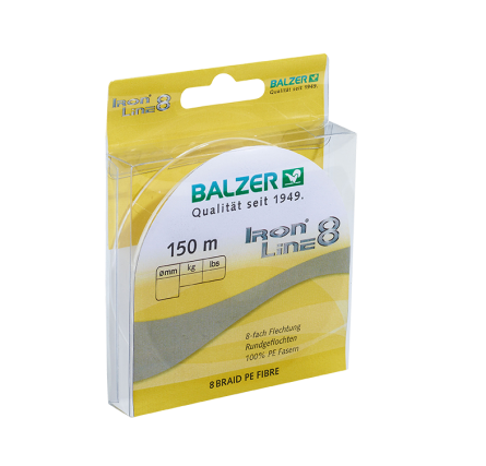 BALZER - Iron Line 8 gelb 150m