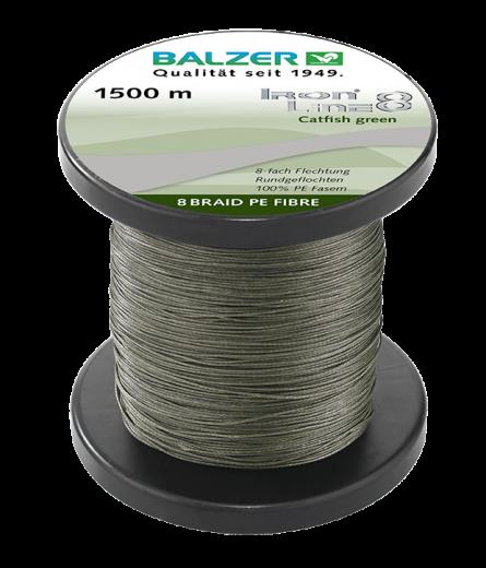 BALZER - Iron Line 8 Catfish gruen 1500m