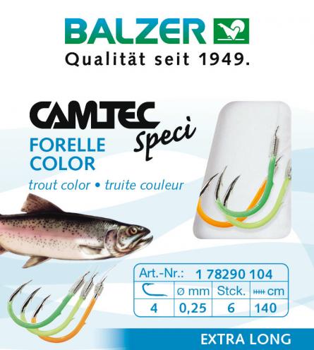 Forelle, farbig, 60cm 3 Farben,